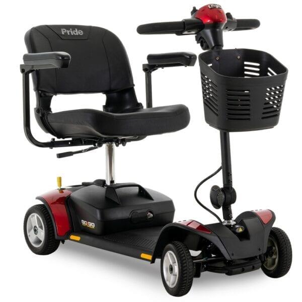 Pride Mobility Go Go Elite Traveller 4-Wheel Scooter