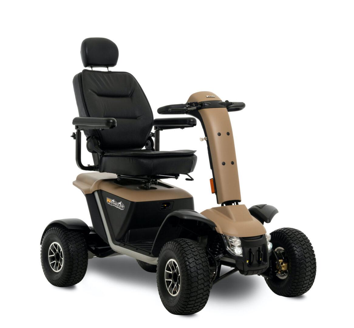 Small Image of the Pride Mobility Wrangler in Desert Sand